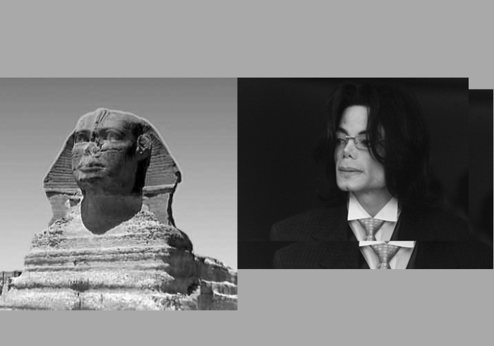 Michael Jackson and the Sphinx