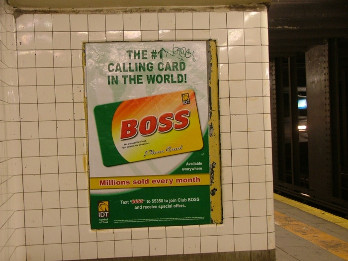 Subway Ad, New York City, Two Thousand And Nine