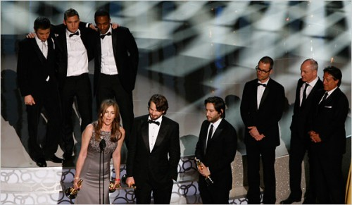 The Hurt Locker wins Best Picture at the 2010 Oscars