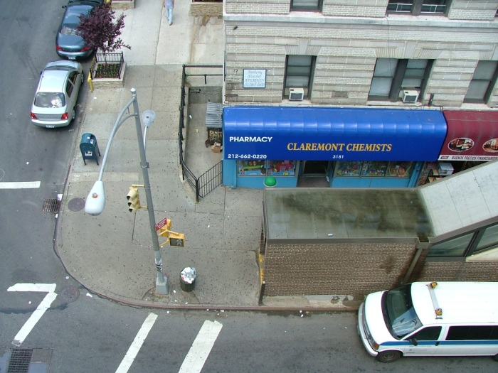 Claremont Chemist, Broadway & Claremont, New York, NY